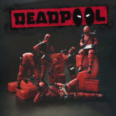 Deadpool 2 Action Figure Posture