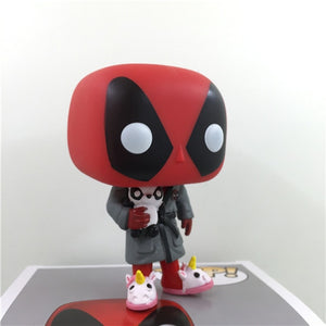 Collection Deadpool Figure Funny Unicorn PVC Model Toy