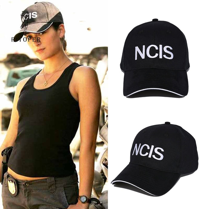 NCIS Cap Embroidery Hat Special Agents Logo Hat Naval Criminal Investigative Service Movie Cap Adjustable Baseball