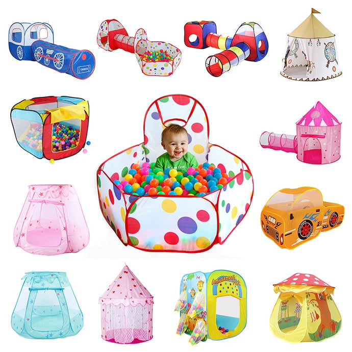 More Styles Foldable Children's Toys Tent For Ocean Balls Kids Play Ball Pool Outdoor Game Large Tent for Kids Children Ball Pit