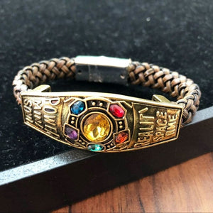 New Avengers 4 Black Widow Cosplay Bangle Bracelets For Women Chain Charms Bracelet Superhero Collection Figure Accessories Gift