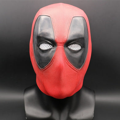 Marvel Superhero Deadpool 2 Full Head Latex Mask
