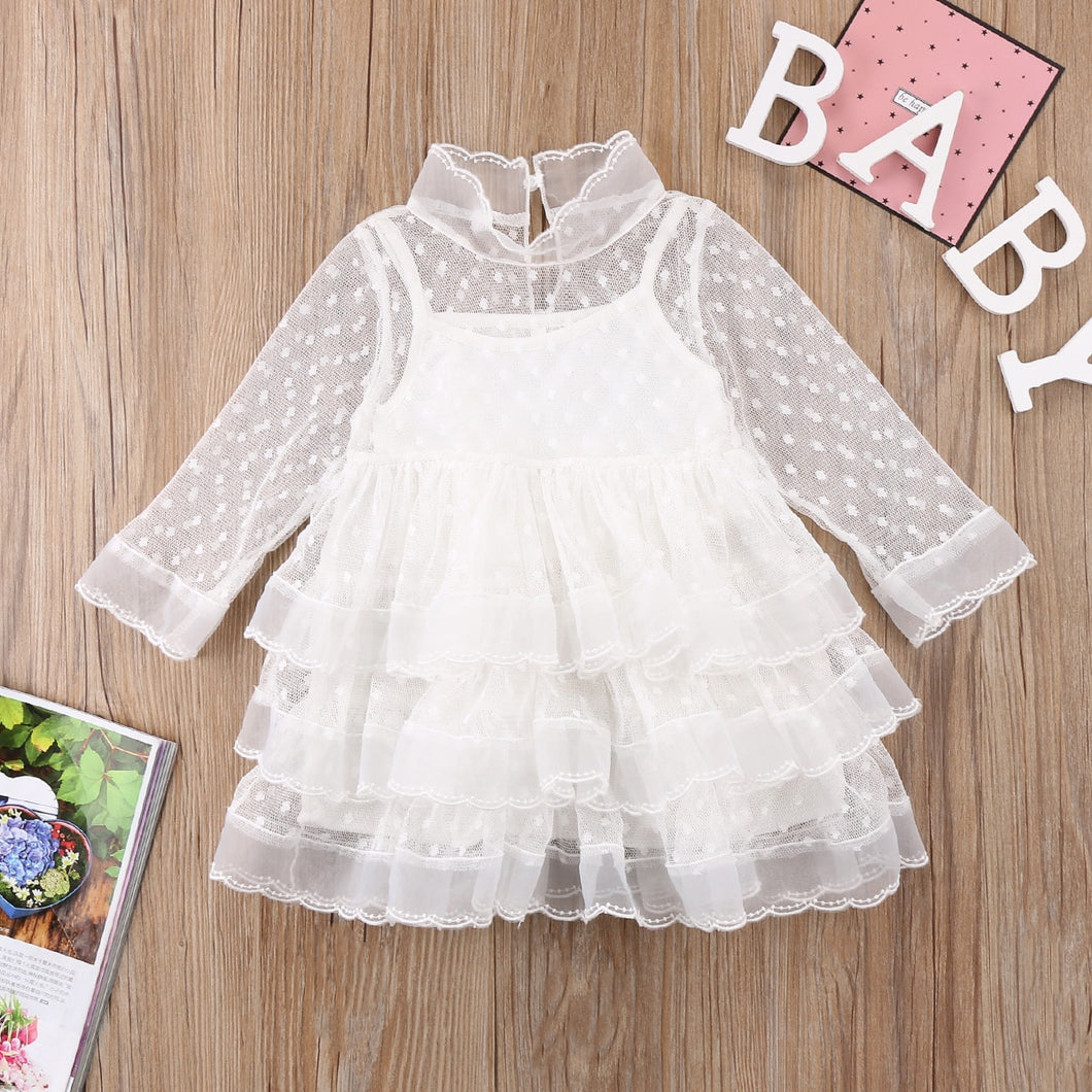 Easter Dress Kid Girls Clothes White tulle Princess Party Dress for Girls Holiday Wedding Dress Girls Costume 3 Years