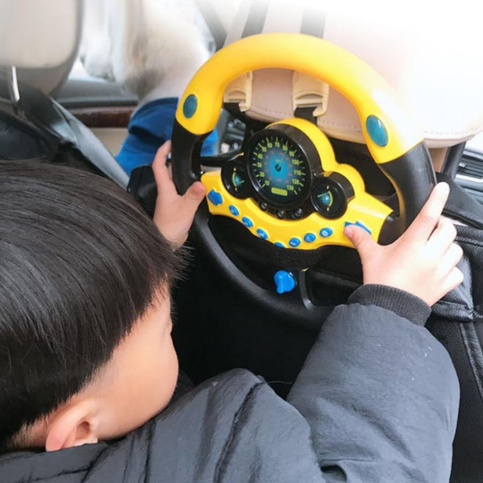 Steering Wheel with Light Baby Musical Developing Educational Toys Electronic Vocal Toys for Children Birthday