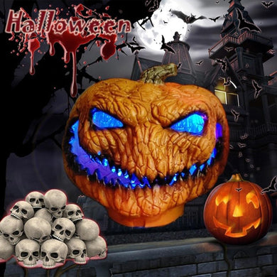 Horrible Evil pumpkin Light Battery Powered Lamp Halloween Party Holiday Decor Halloween light creative pumpkin holiday lighting