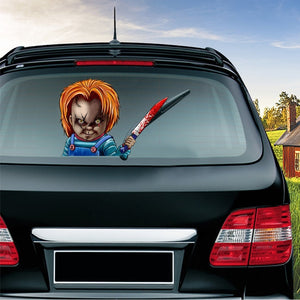 Horror Car Stickers Car Rear Windshield Decals Halloween