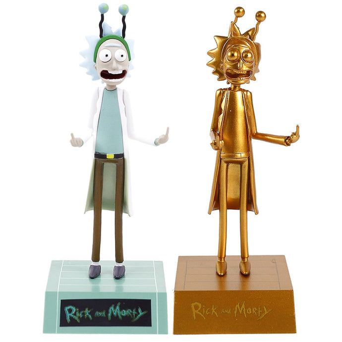 Rick and Morty Rick Sanchez Funny Figure Collectible Figurine Brinquedo Toys Gift