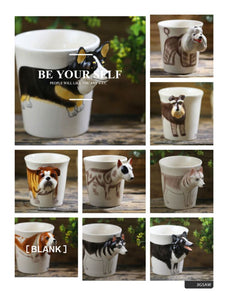 3D painted animal cartoon Mug