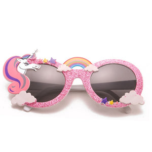 Unicorn Rainbow Party Sunglasses, Party Mask Costumer
