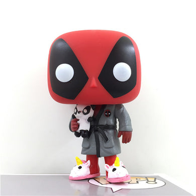 New Deadpool Figure Funny Unicorn PVC Model Toy