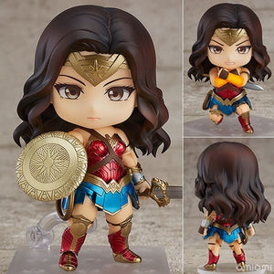 Anime DC Wonder Woman Hero's Edition Cute Figure Model Toys
