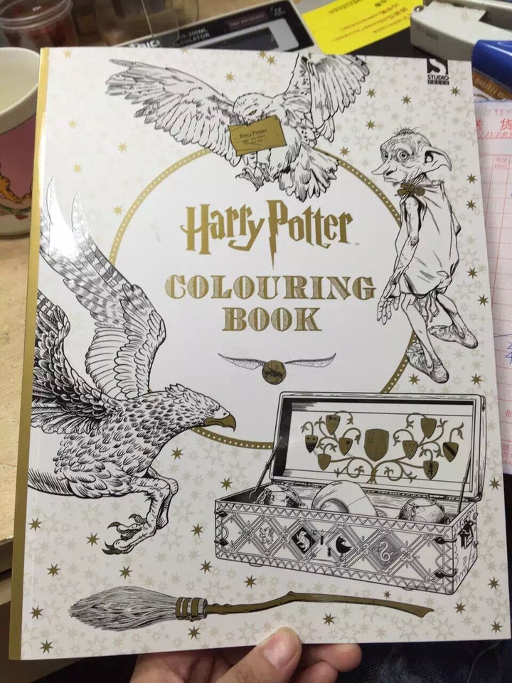 96pages Harry Potter Coloring Book. Books for Children adult ...