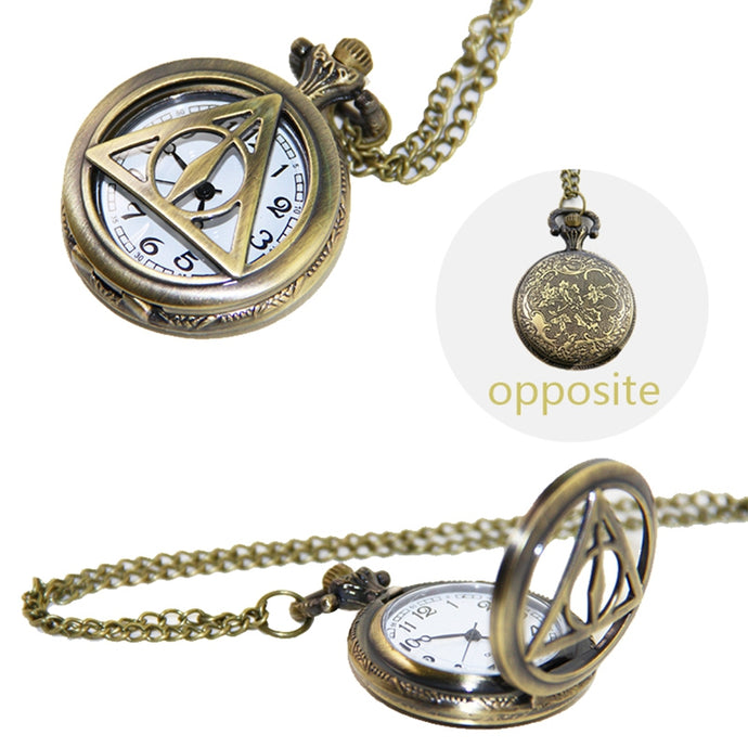 Harry Potter Hermione Granger Time Turner Necklace Toys For Kid Harry Potter Necklace Clock Watch Time Turner Snitch Gift Toy
