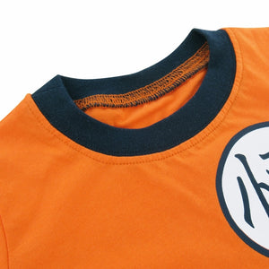 Boys Goku Cosplay Clothing Set Pyjamas Kids Cartoon Pajamas Child Summer Loungewear Sleepwear Children Pijamas Infantil