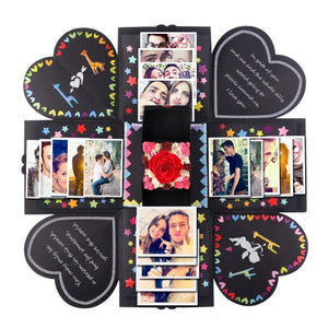 Surprise Love Explosion Box Gift Explosion for Anniversary Scrapbook