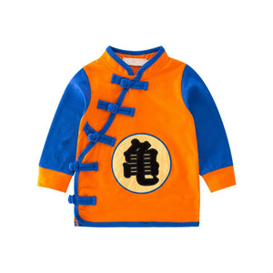 Children Dragon Ball Coat Casual Child Jacket Goku Cotton Kids Sweatshirts dragon ball z Baby boys Cartoon Tops T-shirt