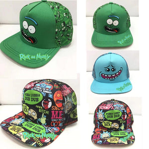 Rick and Morty Cartoon Character New Kid's hip hop Hat Children's Baseball Cap