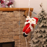 Santa Claus Market Showcase Decor House Christmas Tree and Other Places Decor