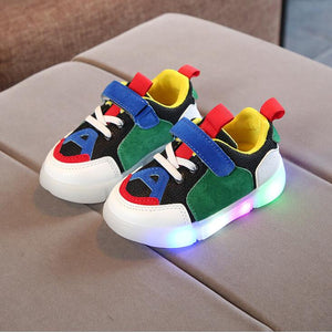 New Spring Autumn Glowing Girls Sneakers Kids Basket Led Children Lighting Shoes Boys illuminated Luminous Sneaker