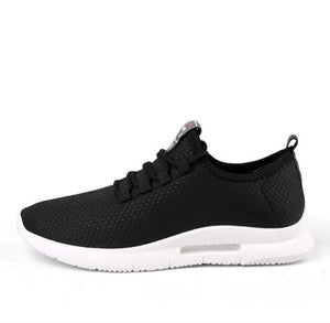 Running Shoes for Men Summer New Men Sneakers Lace Up Low Top Jogging Shoes Man Athletic Footwear Breathable Sale