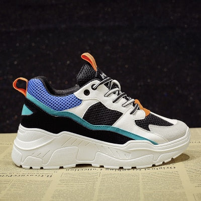 Sneakers 2019 Fashion Casual Shoes Woman Comfortable Breathable Mesh Flats Female Platform Sneakers Chaussure Femme