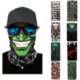 Outdoor Riding Mask Cycling Motorcycle Head Scarf Neck Warmer Sport Face Mask Ski Balaclava Halloween Headband 25*50cm Oct#1