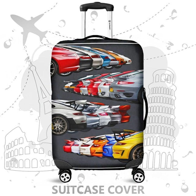 High quality Luggage Suitcase cover Hot sale Travel accessories Elastic  dust cover Suitable for 18'' - 32'' suitcases