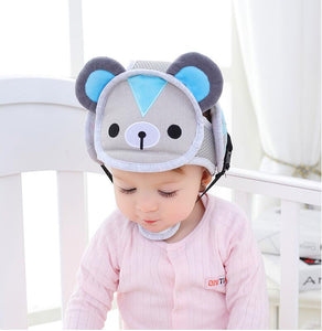 Baby Infant Head Protection Soft Hat Helmet Anti-collision Security Safety Helmet