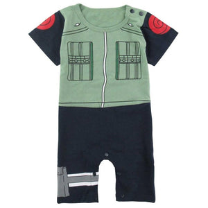 Baby Boy Anime Costume Romper Naruto Funny Cute Infant Playsuit 0-24M