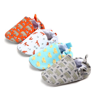 New Style Animal print baby shoes PU Leather Infant shoes First walkers Toddlers Crib Brand kids Child shoes