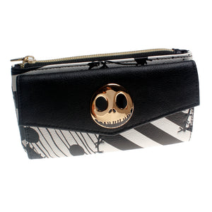 Nightmare before christmas  Top Zip Juniors Wallet  Women Purse DFT-5526