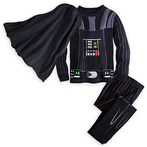 2-7Y Kids Boy Hulk Iron Man Darth Vader Winter Pyjamas Child Sleepwear Nightwear Children Star War Party Costume Pajamas
