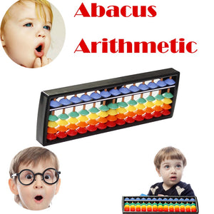 Kids Toy Baby Funny Toys For Boy Girl Rods Colorful Beads Plastic Abacus Arithmetic Soroban Kid's Calculating Tool Toy