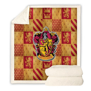 Harry Potter Plush Throw Blanket 3D Printed Sherpa Cape Kids Adult Winter Fleece Blankets Cape Cloak Throw towel Travel Cover