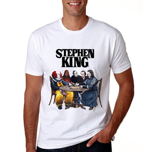 New Arrival Stephen King It Movie Tshirt