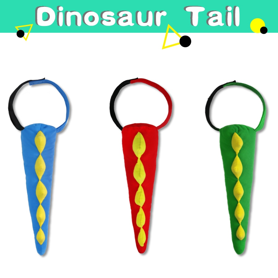 Dragon Tails Dinosaur Costume Party Theme Kids Dinosaur Tails Newborn Gift Dinosaur Costumes Christmas Toys