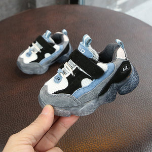 2019 Spring New Kids Baby Shoes Soft Non-slip Infant First Walkers Mesh Breathable Baby Sneakers Toddler Shoes For Girl Boy