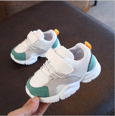 Spring New Children Shoes Fashion Kids Soft Bottom PU Leather Sport Sneakers Baby Autumn Breathable Toddler Shoes