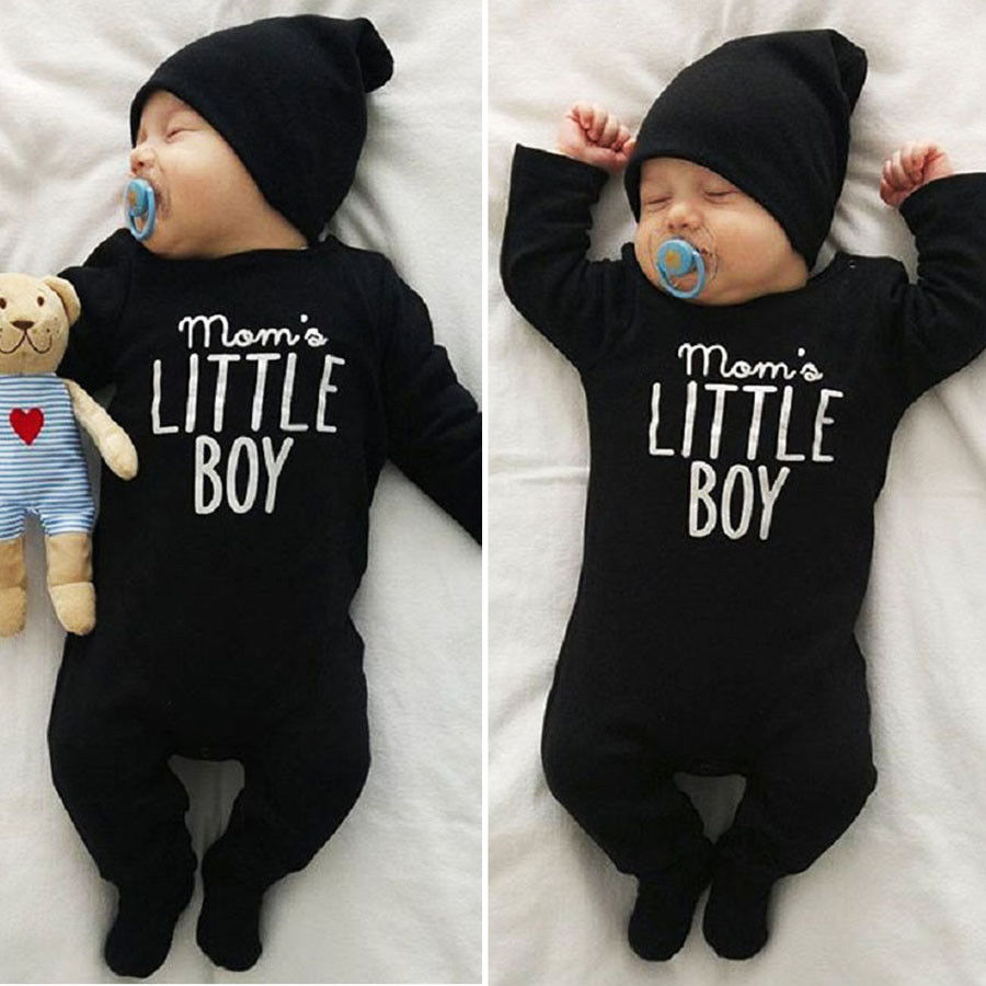 Boy Jumpsuits 0-24M Fashion Newborn Infant Baby Boys Romper Jumpsuit Outfits Clothes