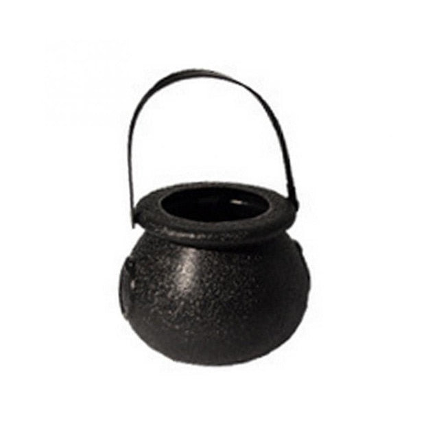 Halloween Candy Kettle box Witch Cauldron Halloween Party Hanging  birthday Decoration