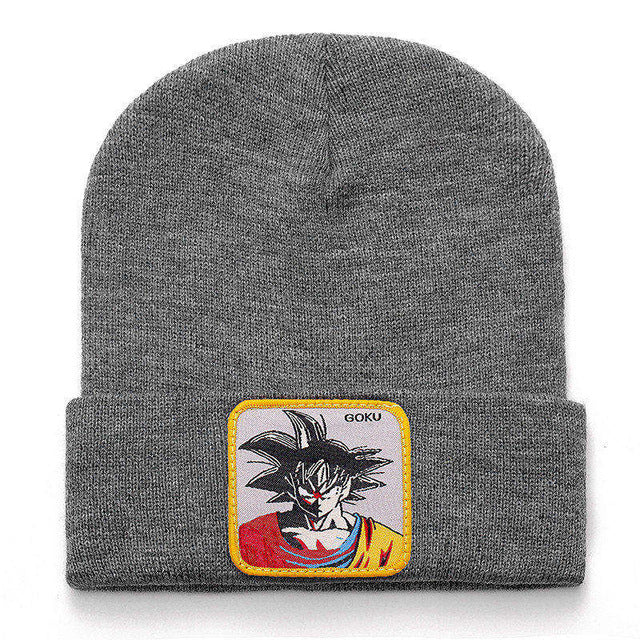 New Dragon Ball Beanie Hat High Quality Buu Role Casual Beanies for Men Women Warm Knitted Winter Hat Fashion Solid Unisex Cap