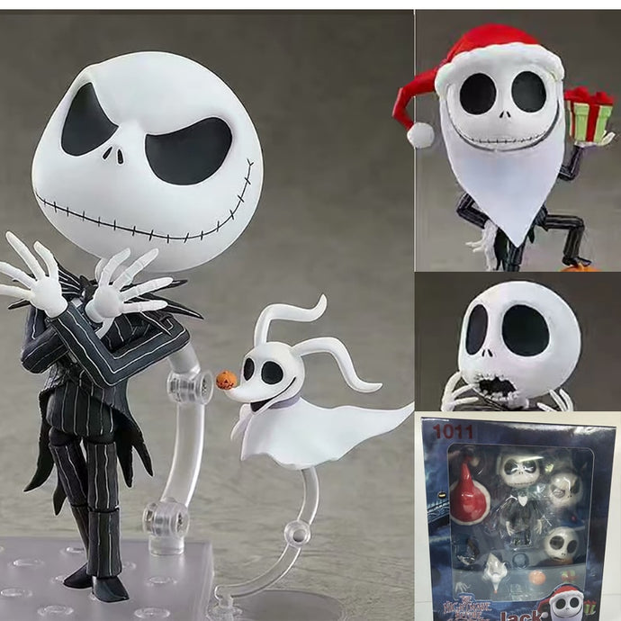 The Nightmare Before Christmas Jack Nendoroid 1011 Change Face Action figure Toys Doll Christmas Gift For Kids