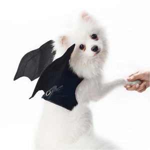 Dog Clothes Halloween Bat Wings Costume For Small Dogs Clothing Christmas Pets Dog Coat Jackets Chihuahua Transform Costumes