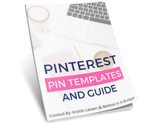 3 Food and Recipe Pin Templates