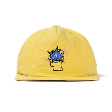 BANG LOGO STRAP BACK (YELLOW)