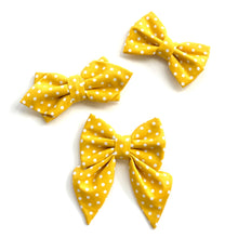 MUSTARD DOT - DIAMOND BOW