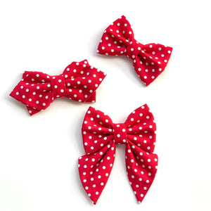 MINNIE DOT - SAILOR BOW
