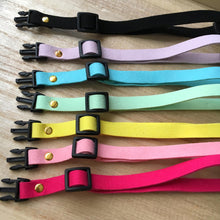 SOFT LEATHER PET COLLAR