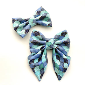 FORTUNE NAMI - BLUE - SAILOR BOW