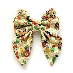 KIKU BLOSSOMS - SAILOR BOW